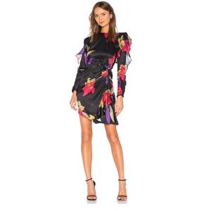Dodo Bar Or Randy Dress Black Floral 44/8 SOLD OUT